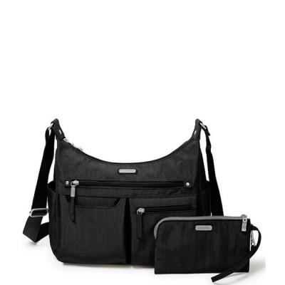 バッガリーニ レディース ショルダーバッグ バッグ Anywhere Large Hobo Bag with RFID Wristlet