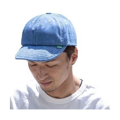 nakota ナコタ ハイカーデニムキャップ 帽子 メンズ レディース ユニセックス 大きいサイズ (ウォッシュ Free Size)