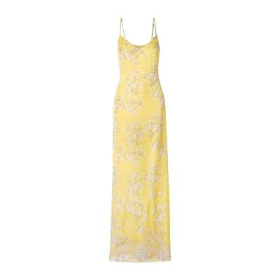 EYWASOULS MALIBU ロングワンピース&ドレス イエロー M ポリエステル 100% ロングワンピース&ドレス