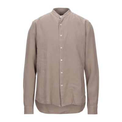 アルテア ALTEA シャツ カーキ XL リネン 100% シャツ