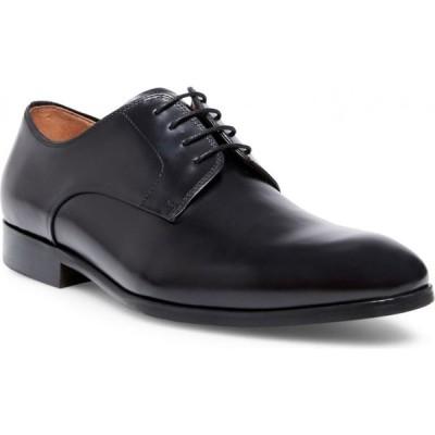 スティーブ マデン STEVE MADDEN メンズ 革靴・ビジネスシューズ ダービーシューズ シューズ・靴 Parsens Plain Toe Derby Black Leather