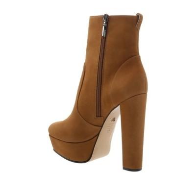シュッツ レディース ブーツ&レインブーツ シューズ July Leather Platform Ankle Boot WOOD