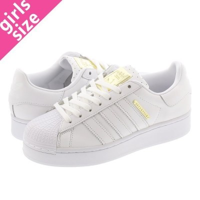 adidas SUPERSTAR BOLD W アディダス スーパースター ボールド ウィメンズ FTWR WHITE/GOLD METALLIC/CORE BLACK fw4520