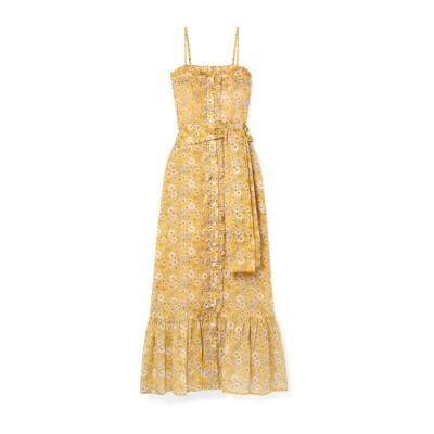 リサ・マリー・フェルナンデス LISA MARIE FERNANDEZ ロングワンピース&ドレス オークル 3 コットン 100% ロングワンピース