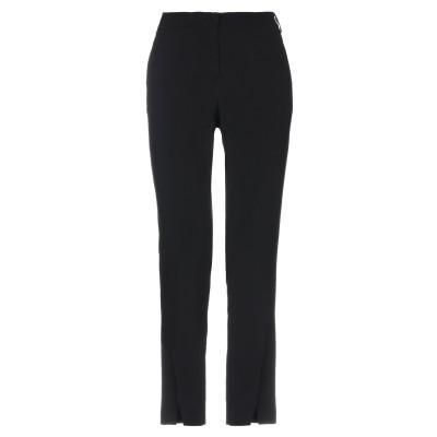 MARIELLA ROSATI パンツ ブラック 40 レーヨン 99% / ポリウレタン 1% パンツ