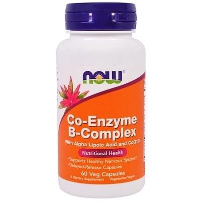 Co-Enzyme B-Complex, 60 Veg Capsules