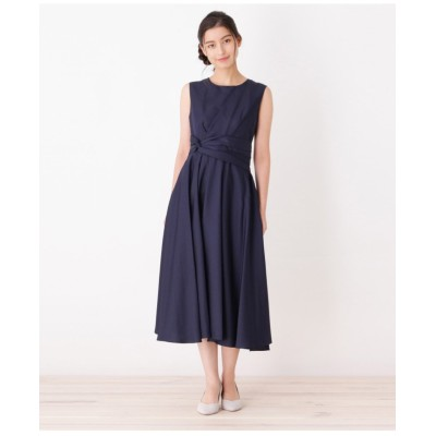 ウエストツイストデザインドレス