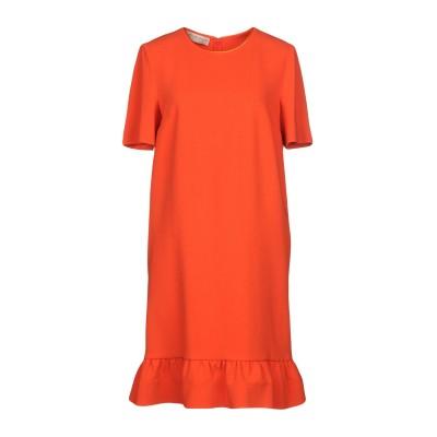 エミリオ・プッチ EMILIO PUCCI ミニワンピース&ドレス オレンジ 38 バージンウール 98% / ポリウレタン 2% / レーヨン ミ