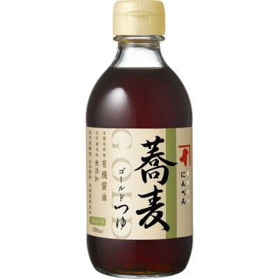 にんべん ゴールドつゆ 蕎麦 300ml