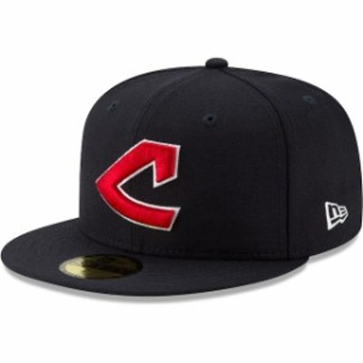 New Era ニュー エラ スポーツ用品  New Era Cleveland Indians Navy Cooperstown Collection Alt Logo Pack 59FIFTY Fitted Hat