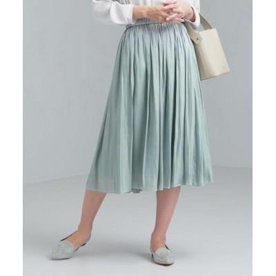 green label relaxing / CS ブライト カッセン ギャザー スカート WOMEN スカート > スカート