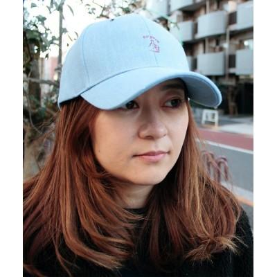 atmos pink / RIVER UP DENIM HAND SIGN CAP / リバーアップ デニムハンドサイン キャップ MEN 帽子 > キャップ