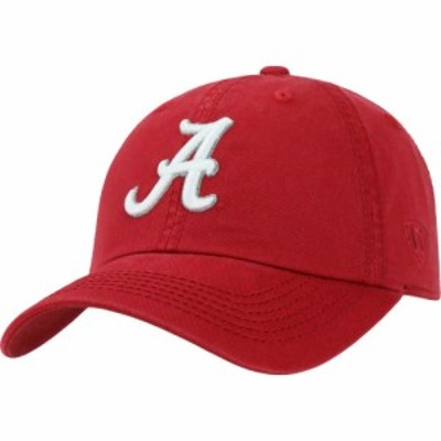 トップオブザワールド Top of the World メンズ キャップ 帽子 Alabama Crimson Tide Crimson Crew Adjustable Hat
