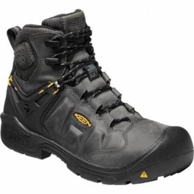 キーン KEEN Utility メンズ ブーツ シューズ・靴 Dover 6 Waterproof Boot Magnet/Black Leather