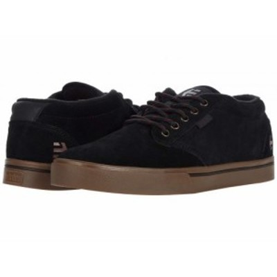 Etnies エトニーズ メンズ 男性用 シューズ 靴 スニーカー 運動靴 Jameson Mid Black/Gum【送料無料】