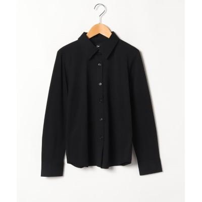 (agnes b. FEMME/アニエスベー ファム)SBX9 CHEMISE JAIN ジャージーシャツ/レディース ブラック