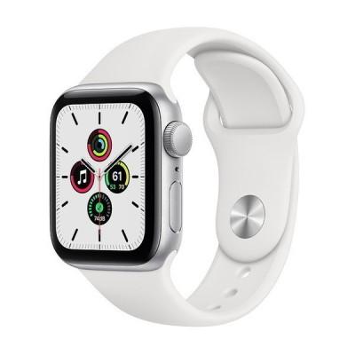 APPLE MYDM2J/A ホワイトスポーツバンド SE GPSモデル 40mm Apple Watch