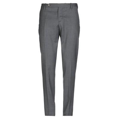 アントレ アミ ENTRE AMIS パンツ 鉛色 38 バージンウール 99% / ポリウレタン 1% パンツ