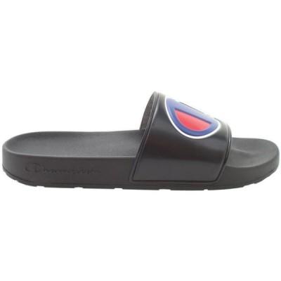 チャンピオン Champion メンズ サンダル シューズ・靴 IPO Slides Black/Black