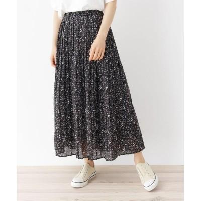 SHOO・LA・RUE/DRESKIP(シューラルー/ドレスキップ) 【M-LL】ワッシャーギャザースカート
