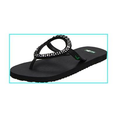 [Sanuk] レディースIbiza Monacoサンダル& Oxy Shoe Cleanerバンドル カラー: ブラック