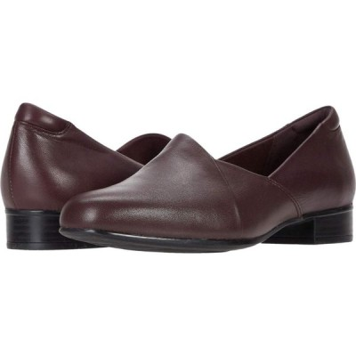 クラークス Clarks レディース シューズ・靴 Juliet Palm Burgundy Leather