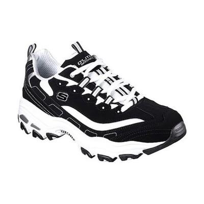スケッチャーズ(SKECHERS) メンズ スニーカー D'LITES ブラック/ホワイト 52675 BKW スポーツ カジュアル シューズ 運動靴