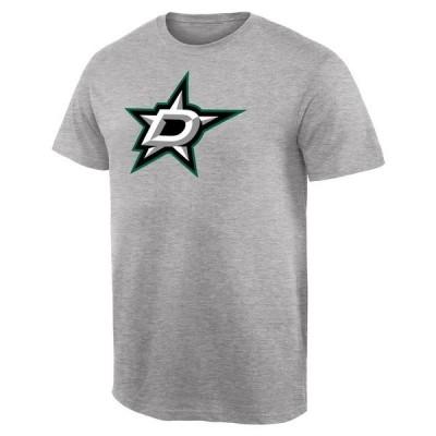 ファナティクス ブランデッド メンズ Tシャツ トップス Dallas Stars Team Primary Logo T-Shirt