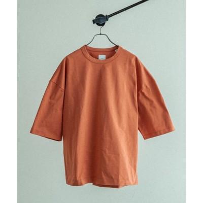 Lui's / ハイクオリティー7分袖ビッグシルエットTシャツ MEN トップス > Tシャツ/カットソー