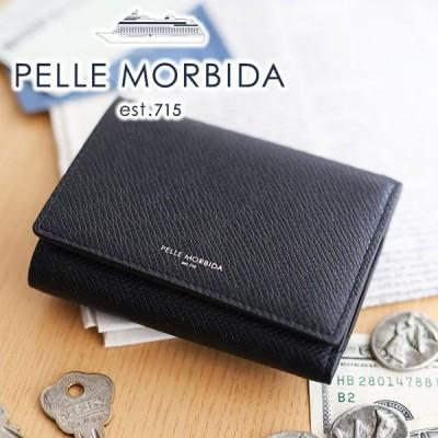 PELLE MORBIDA ペッレモルビダ Barca バルカ エンボスレザー キーケース PMO-BA322
