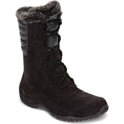 ザ ノースフェイス THE NORTH FACE レディース ブーツ ウインターブーツ Nuptse Purna II Waterproof Winter Boots, TNF Black/Beluga Grey TNF BLK/BELUGA GRY