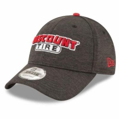 New Era ニュー エラ スポーツ用品  New Era Brad Keselowski Black Discount Tire Driver 9FORTY Adjustable Hat