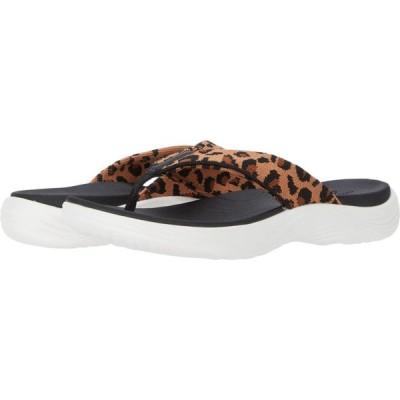 クラークス Clarks レディース ビーチサンダル シューズ・靴 Lola Point Black/Tan Interest Textile