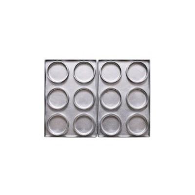 606222 サンテックコーポレーション マルチベーカーPRO専用型 大判焼 6個取り 左右セット