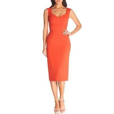 ドレスザポプレーション レディース ワンピース トップス Dress The Population Elle Sweetheart Bodycon Midi Dress