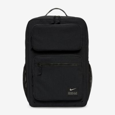NIKE 後背包 男女款 旅行包 肩背包 筆電包 大型氣墊背帶黑 CK2668010 Utility Speed