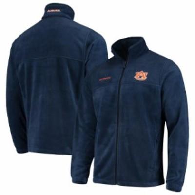 Columbia コロンビア スポーツ用品  Columbia Auburn Tigers Navy Team Flanker II Full-Zip Fleece Jacket