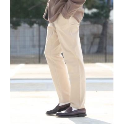 メンズ ベーセーストック SLIM MOVING PANTS ベージュ S