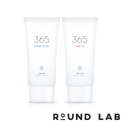 ラウンドラボ365トーンアップ/安心日焼け止め SPF50+ PA++++/ [Round Lab] Tone-up Sun Block/Relief Sun Block 50ml