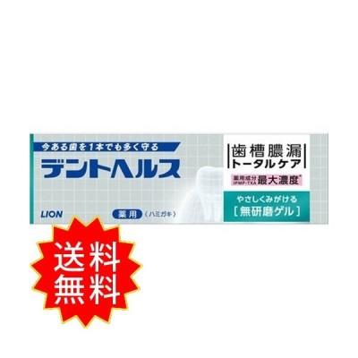 デントヘルス薬用ハミガキ無研磨ゲル 85g ライオン 歯磨き 通常送料無料