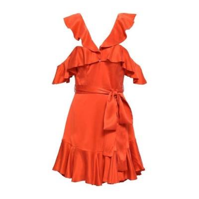 ZIMMERMANN シルクドレス  レディースファッション  ドレス、ブライダル  パーティドレス レッド