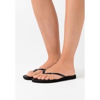 ロキシー サンダル レディース シューズ VIVA IV - Pool shoes - black