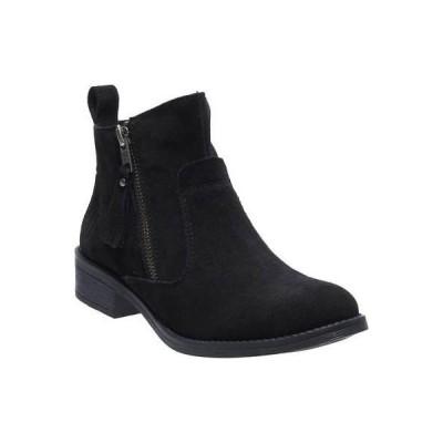 ブーツ ハーレーダビッドソン Harley-Davidson Women's Melita 6.25-Inch Black Suede Leather Ankle Boots D88812