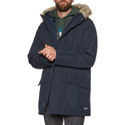 リーバイス Levi's メンズ ジャケット アウター Woodside Long Utility Parka Jacket Nightwatch/Blue