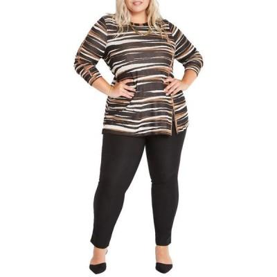 ニックプラスゾーイ レディース ニット・セーター アウター Plus Size Mighty Zip Sweater
