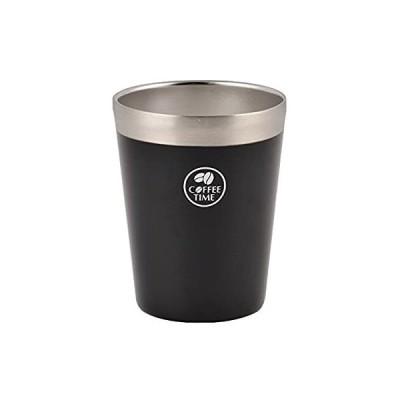 パール金属 真空 コンビニカップ ブラック HB-1894