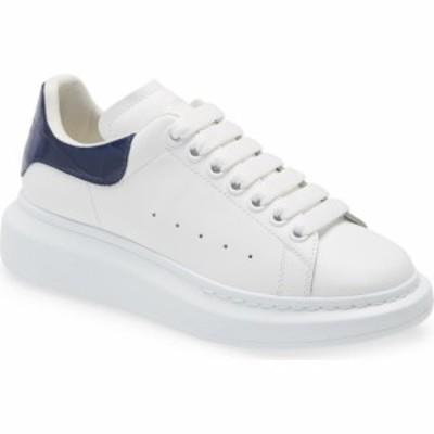 アレキサンダー マックイーン ALEXANDER MCQUEEN レディース スニーカー シューズ・靴 Platform Sneaker White/Navy