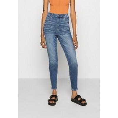 アメリカンイーグル レディース デニムパンツ ボトムス CURVY SUPER HI-RISE - Jeans Skinny Fit - dreamy indigo dreamy indigo