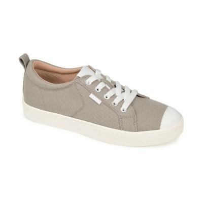 ジャーニーコレクション スニーカー シューズ レディース Women's Meesh Sneakers Gray