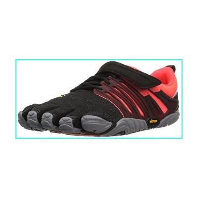 【新品】Vibram Women's V-Train Cross-Trainer Shoe, Black/Coral/Grey, 38 EU/6.5-7 M US(並行輸入品)
